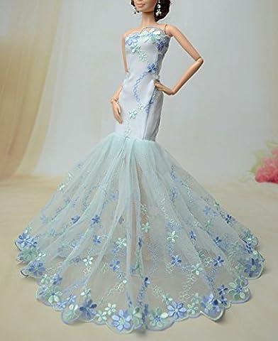 Mode magnifique robe de soirée à la main pour la