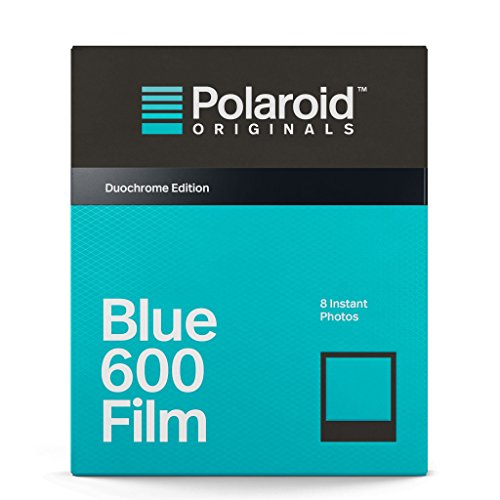 Polaroid originals 4693nero & blu film per 600, blu
