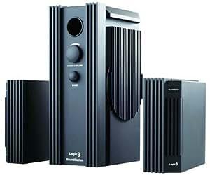 Logic 3 ScreenBeat SoundStation 2 - Canal 2.1 système multimédia de haut-parleurs pour ordinateur - 26 Watt (Totale)