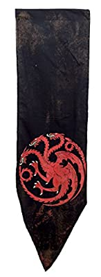 Game of Thrones Targaryen Distressed Battle Tournament Banner