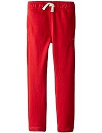 Nautica Boys' Fleece Pant with Functional Pockets