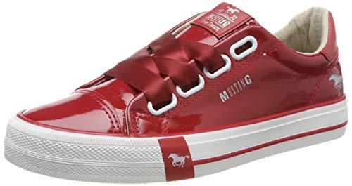 Mustang Damen Sneaker Rot, Schuhgröße:EUR 42