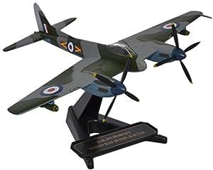 Herpa Oxford Diecast - Un Modelo de un pistón de Dos Motores DH avispón F3 WB909 RAF Kai Tak, a Escala 1:72