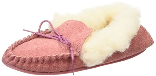 Spot OnSuedemocc - Pantofole donna, colore rosa (pink), taglia 37 EU (4 UK)
