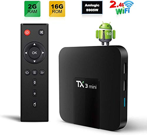 Foto TX3 MINI Smart TV Box Android 9.0 TV BOX 2GB/16GB 4K TV Amlogic S905W Quad...