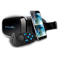 GOCLEVER Elysium VR Plus–VR 3d occhiali di realtà virtuale con gratis Bluetooth controller - Trova i prezzi più bassi su tvhomecinemaprezzi.eu