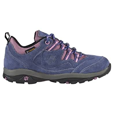 Jack Wolfskin  GIRLS NATURE PASS TEXAPORE, Chaussures de randonnée fille shady blue 26