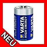 Varta High Energy 1,5V Alkali-Mangan Baby Batterie