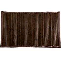Alfombra bambú, Wengué, 180 x 120 x 0.5 cm