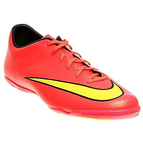 Nike , Chaussures de foot pour homme Rouge hyper punch/metallic