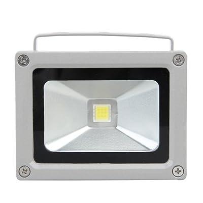 CroLED® 10W 20W 30W 50W LED Fluter Flutlicht Strahler Außenstrahler Licht Weiß Garten Wasserdicht Lampe (10 Watt)