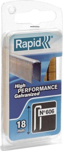 Heftklammern, Für Rapid 606, Rückenbreite: 6,0mm, Länge 18mm, 600Stück