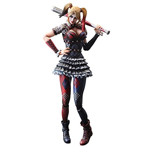 Square Enix Harley Quinn Batman Arkham Knight Play Arts Kai Action Figur