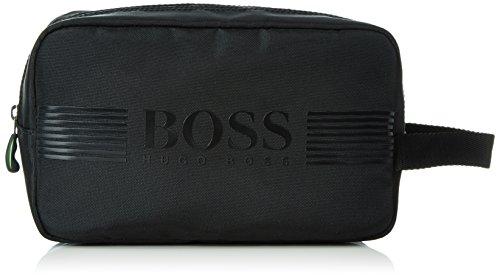 BOSS GreenPixel_Washbag 10180620 01 - Borsa Uomo, Nero (Black 001), 9x25x16 cm (B x H x T)
