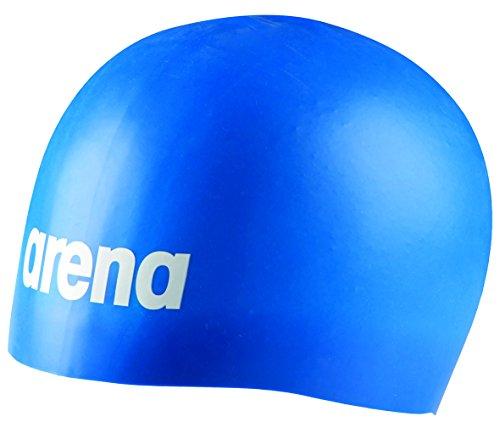Arena cuffia da nuoto professionale, realizzata mediante stampaggio, articolo unisex, unisex, moulded pro, royal, taglia unica