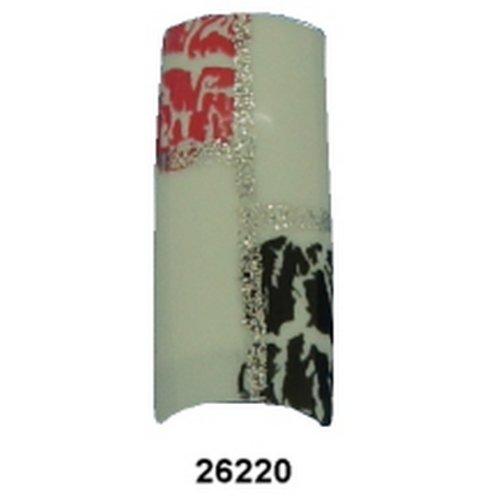 BEAUTIQUE Professional Glue-On Design Nails - BQ26220