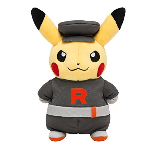 Pikachu - Team Rocket ver. - Pokemon Center Limited Edition [Plush Toys](Import Giapponese)