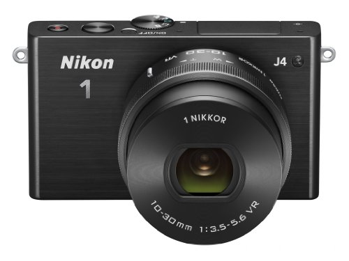 Nikon 1 J4 Systemkamera (18 Megapixel, 7,5 cm (3 Zoll) LCD-Display, Full HD Videofunktion) Kit inkl. 10-30mm PD-Zoom Objektiv schwarz - 4