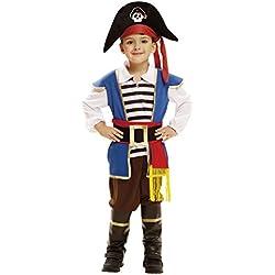 Disfraz de pequeño pirata para niño, (5-6 años)