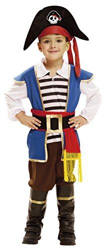 Imagen de my other me  disfraz de pequeño pirata para niño, 5 6 años viving costumes 202005