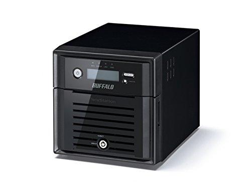 Buffalo TeraStation 3200D Storage server Mini Tower Collegamento ethernet LAN Nero