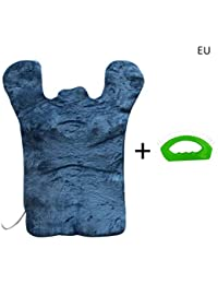 KiGoing Chaleco de Masaje de calefacción para el Alivio de Thermapulse Masaje Masaje Wrap descompresión - Azul/Fucsia