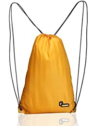 F Gear String Polyester 11 Ltrs Yellow Shoulder Bag (2153)