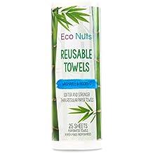 Eco Nuts Reusable Towels - 25 Sheet(s)