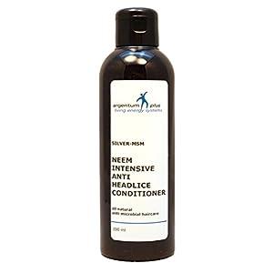 Silber-MSM Neem Intensiver Anti-Kopflaus Conditioner – 200 ml