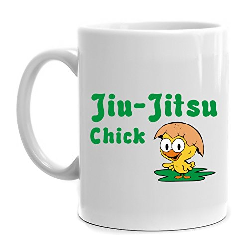 Eddany Jiu Jitsu chick - Tassen Jiu Jitsu Bilder