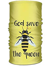 f33d86955d7 FAFANIQ God Save The Queen Bees Headwear For Men And Women-Yoga Sports  Travel Workout Wide Headbands