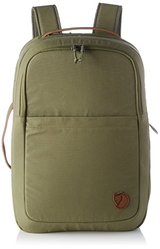 FJÄLLRÄVEN Travel Pack Rucksack, Green, 46 x 32 x 27 cm, 35 L