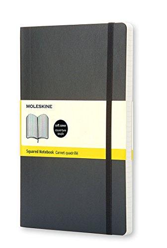 Moleskine Klassisches Notizbuch Pocket, Softcover, kariert, schwarz