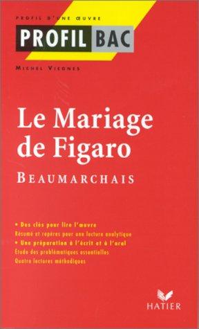 Profil d'une oeuvre : Le mariage de Figaro, Beaumarchais