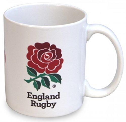 Fan de Rugby Angleterre Rfu aide Rose Rouge anglais Mug de supporter