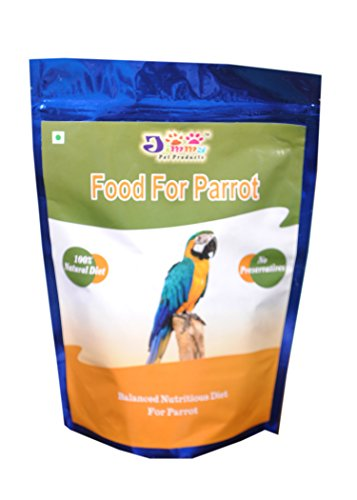 JiMMy Food For Parrot - 900 GMS Pack - Bird Food