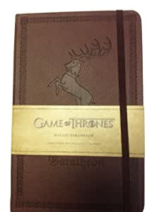 Game of Thrones (Le Trône de Fer) - Carnet Luxe Baratheon