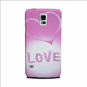 Yashas High Quality Designer Printed Case & Cover for Samsung Galaxy S5 (Love)