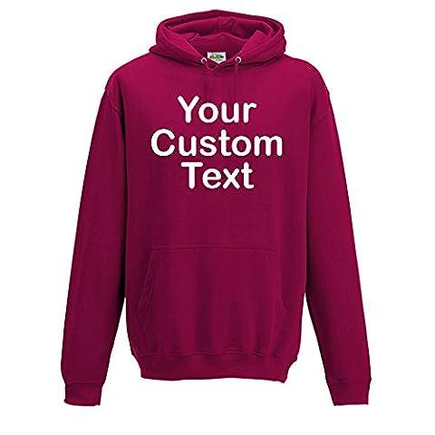 Custom CRANBERRY personalised Hooded Sweatshirts, KIDS custom hoodie 5-6