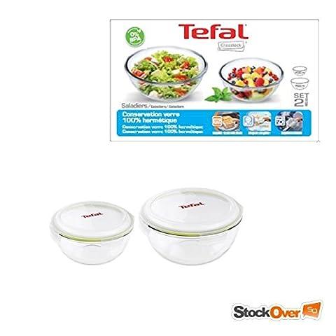 Glasslock TEFAL Set of 2 Salad Bowls Set of 3