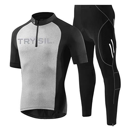 Mallas De Ciclismo De Dos Piezas Pantalones Respirables