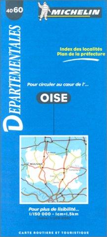 Carte routière : Oise, 4060, 1/150000