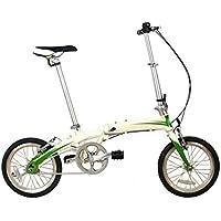 Bicicleta De Carga De 16 Pulgadas De Aleación De Aluminio De Velocidad única Plegable Bicicleta De