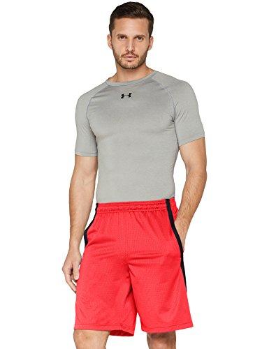 Under armour ua tech mesh, pantaloncini uomo, rosso, medium