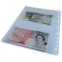 07b553a0b6 Schulz Raccoglitori per banconote, M2, confezione da 5 pagine.