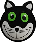 Lucky Black Cat Car Aerial Ball Antenna Topper - (one P&P charge no matter how many items you buy from Aerialballs.)
