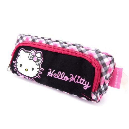 Hello Kitty' schwarz grau rosa. (Hello Kitty Make Up Kit)