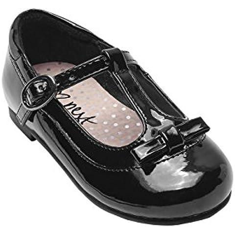 next Para Niñas Zapatos Con Tira En El Empeine Adorno De Purpurina (Niña Pequeña)