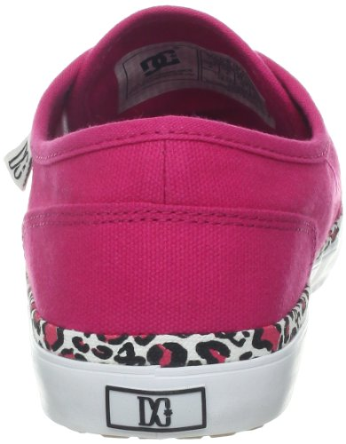 DC Shoes Studio Ltz J, Baskets mode femme Rouge (Bright Red)