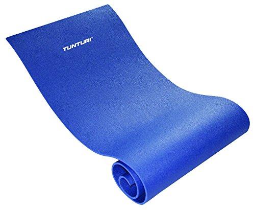 Tunturi 14tusfu185 tappetino fitness - tappetino yoga xpe - blu, unisex - adulto, blue, taglia unica